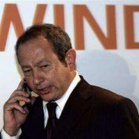 نجيب ساويرس رئيس مجلس ادارة اوراسكوم للاتصالات