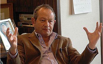 نجيب ساويرس رئيس مجموعة أوراسكوم للاتصالات