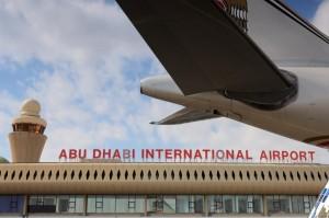 مطار أبوظبي الدولى