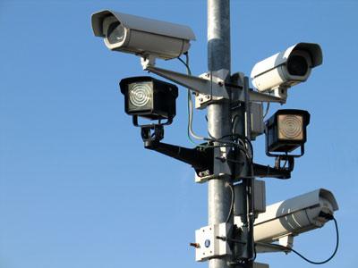 المراقبة بالكاميرات