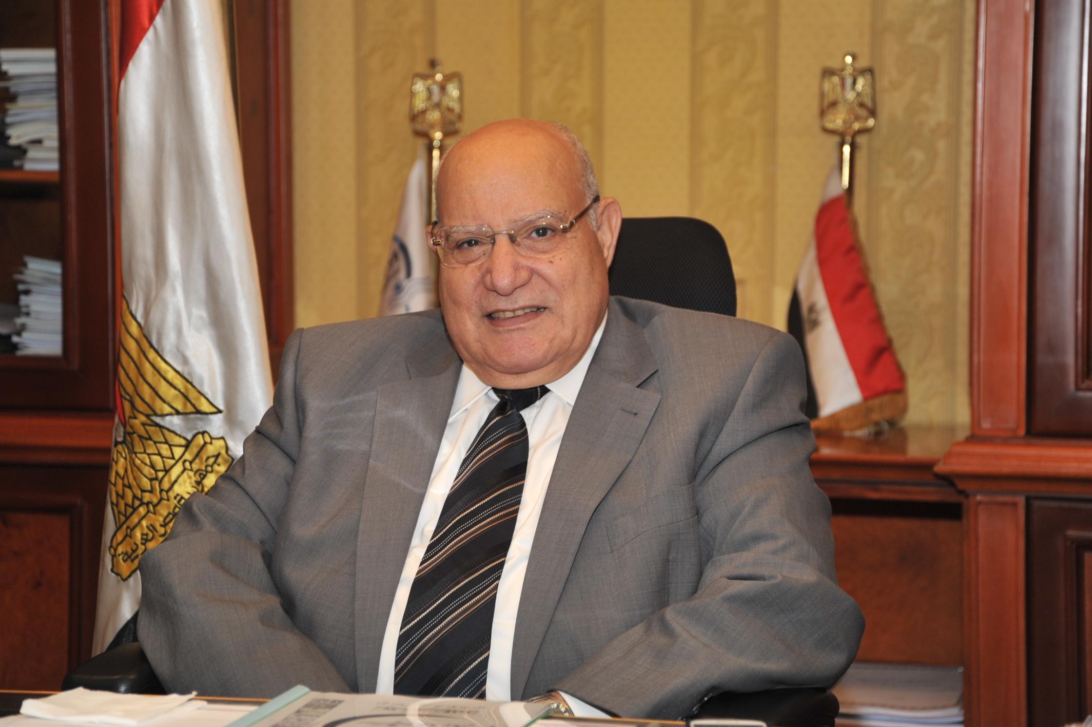 ابراهيم الدميري وزير النقل