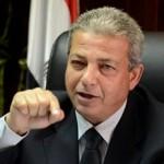 خالد عبد العزيز وزير الشباب