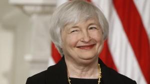 رئيسة الاحتياطي الفيدرالى الامريكى