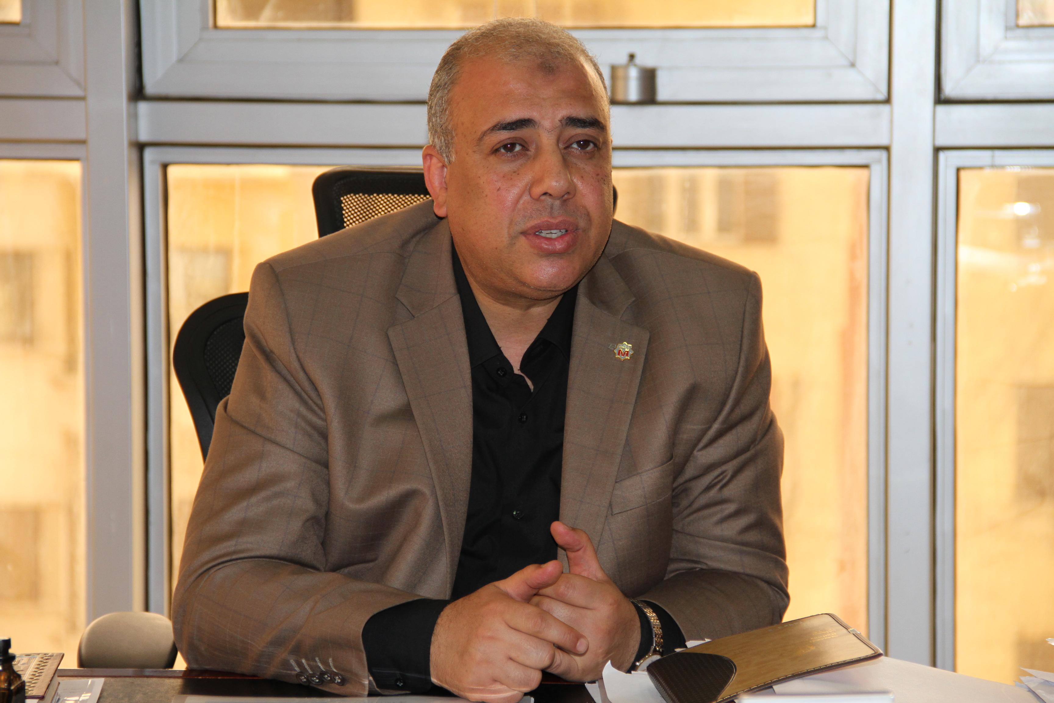 رئيس الشركة المصرية لإدارة وتشغيل مترو الانفاق