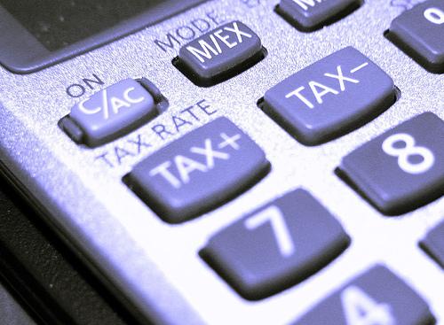 الضرائب