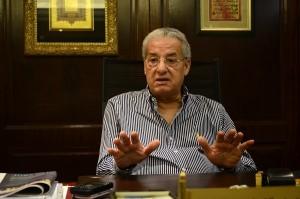 رئيس مجلس إدارة شركة المقاولون العرب