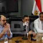 مؤتمر صحفي لعبد الرحيم على (2)