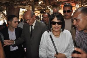 الدكتورة ليلى إسكندر وزيرة التطوير الحضرى والعشوائيات