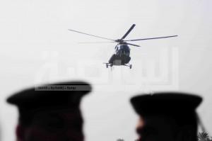 وصول مبارك لأكاديمية الشرطة