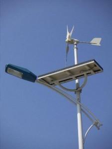 أعمدة الانارة بالطاقة الشمسية