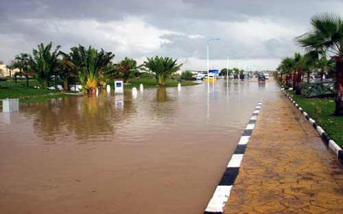 خطر السيول