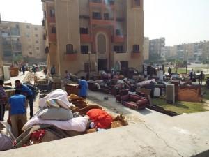 استعادة 240 وحدة سكنية بمايو
