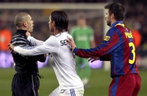ريال مدريد وبرشلونة ,, الدورى الاسبانى