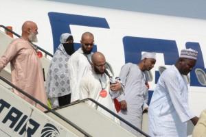 وصول الحجاج ,مصر للطيران