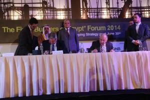 بروتوكول تعاون بين وزارة الشباب والرياضة و الاتحاد المصري لمقاولى التشييد والبناء
