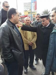 وزير اﻹسكان يفاجئ مسئولى جهاز مدينة 6 أكتوبر