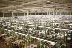 اكبر المصانع على مستوى العالم