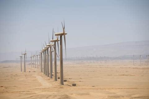 محطة لتوليد الكهرباء من الرياح