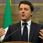 ماتيو رينزي رئيس الوزراء الإيطالي