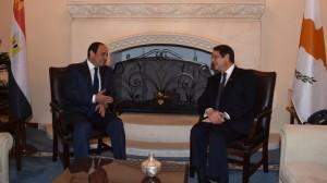 رئيس قبرص والرئيس السيسي