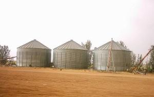 صوامع تخزين القمح
