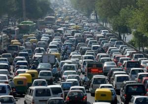الاختناق المرورى