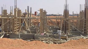 بدء انشاءات وحدات مشروع دار مصر بالشروق