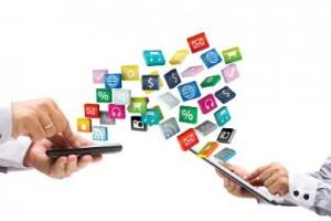 التجارة الإلكترونية على الهواتف الذكية