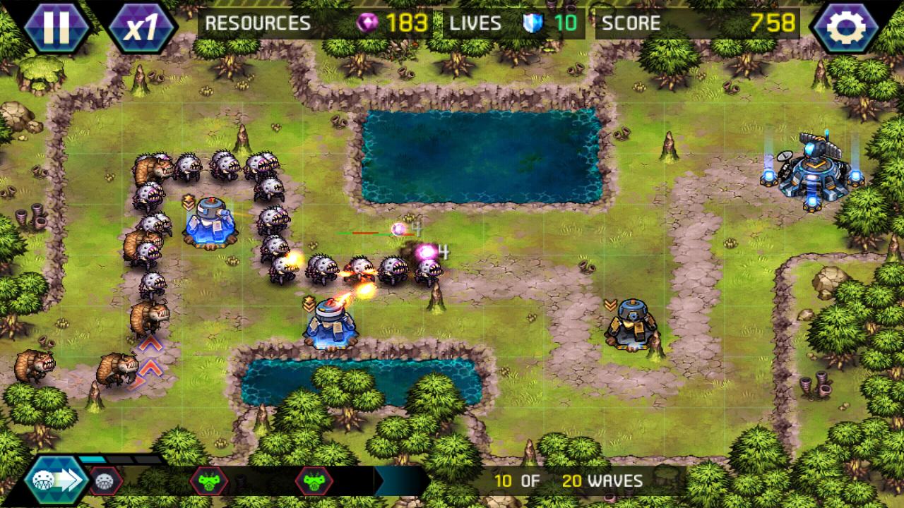 لعبة Tower Defence