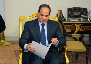 عبد الفتاح السيسي رئيس الجمهورية