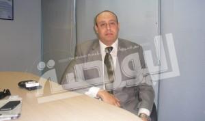 أحمد أبو الدهب رئيس قطاع تطوير الأعمال والمبيعات بشركة تكنولوجيا تشغيل المنشآت المالية «e-finance»