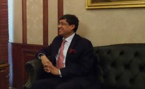 سانجاي باتاتشاريا سفير الهند لدى مصر