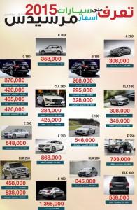 أسعار سيارات مرسيدس