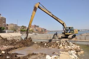 إزالة التعديات على نهر النيل
