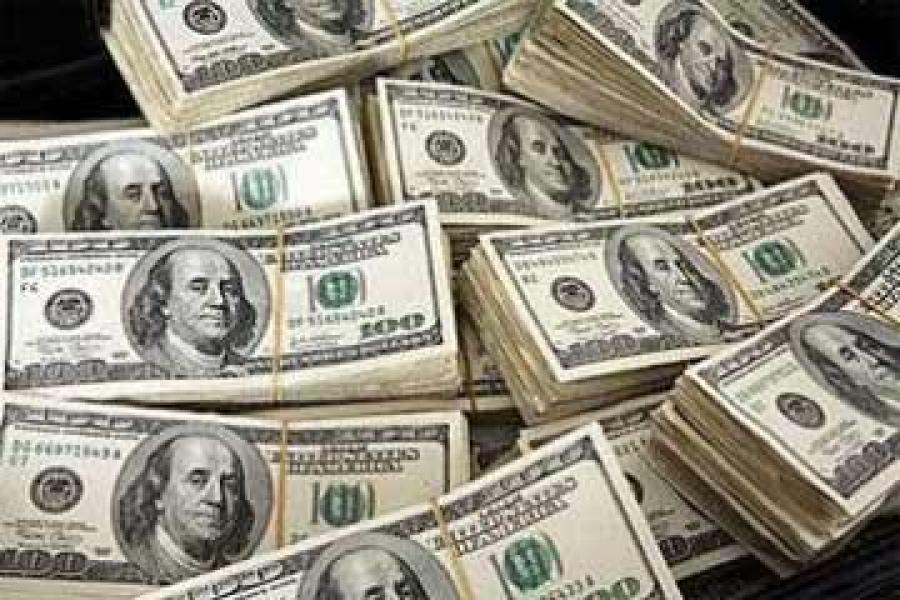 دولارات - احتياطي النقد الأجنبي