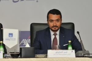 حسن الشبراويشى الرئيس التنفيذى لشركة أكسا مصر للتأمين