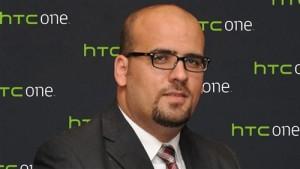 طارق عبد المحسن رئيس قطاع التسويق بشركة جوفي ترونكس الوكيل الحصرى لهواتف hTC