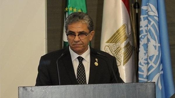 خالد فهمي وزير الدولة لشئون البيئة