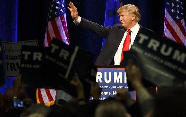 دونالد ترامب في سباق الحزب الجمهوري لاختيار مرشح للانتخابات الرئاسية