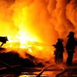 حريق محطة كهرباء ابوقير