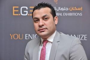 محمود عفيفى رئيس مجلس إدارة شركة اسكان جلوبل المصرية 1