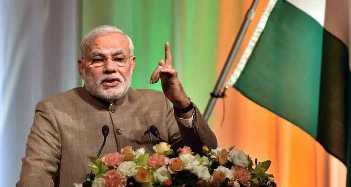رئيس الوزراء الهندى