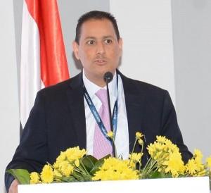 الدكتور محمد عمران رئيس البورصة