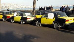 سائقو التاكسى بالاسكندرية