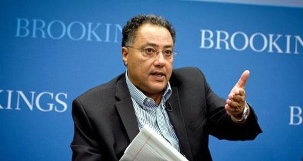 حافظ غانم نائب رئيس البنك الدولى لمنطقة الشرق الاوسط وشمال أفريقيا،