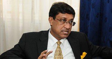 السفير الهندي بالقاهرة سانجاى باتاتشاريا