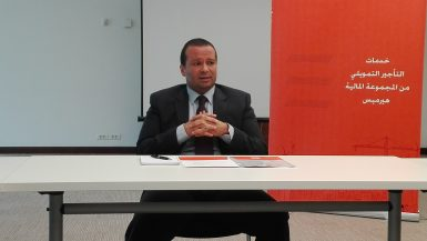 أحمد الخولي الرئيس التنفيذي للمجموعة المالية هيرميس للتأجير التمويلي