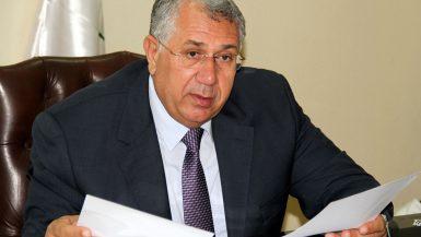 السيد القصير رئيس بنك التنمية والائتمان الزراعى