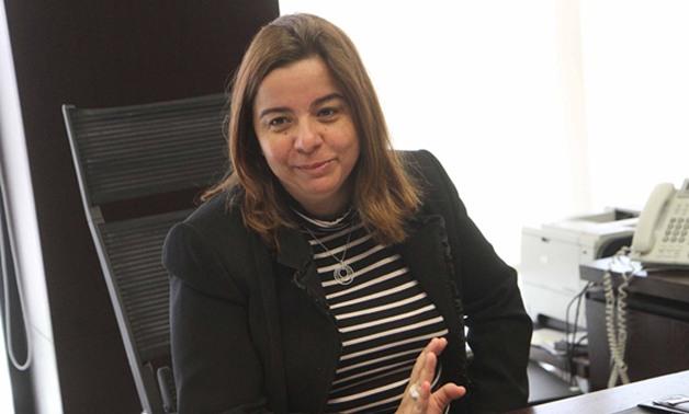 مى عبدالحميد، رئيس مجلس إدارة صندوق التمويل العقارى