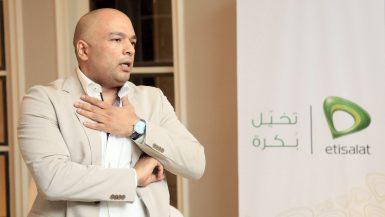 حازم متولي الرئيس التنفيذي لشركة اتصالات مصر